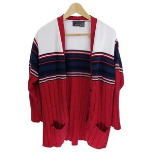 '90s Vintage Liz Wear 100% Cotton Cardigan Sweater